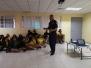 Charla educativa por parte de la policía de la niñez y la adolescencia